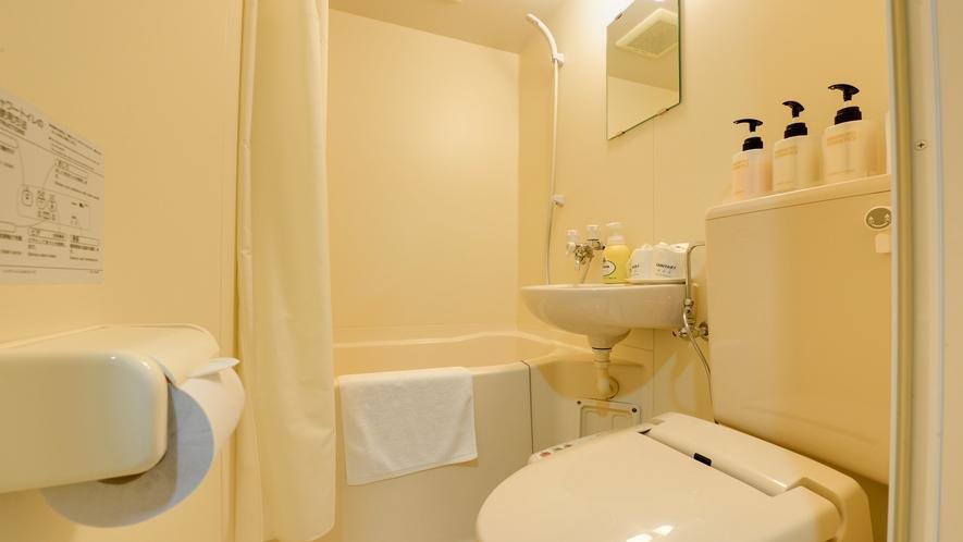 *【本館/和室8畳】客室にはバス・トイレを完備しております。