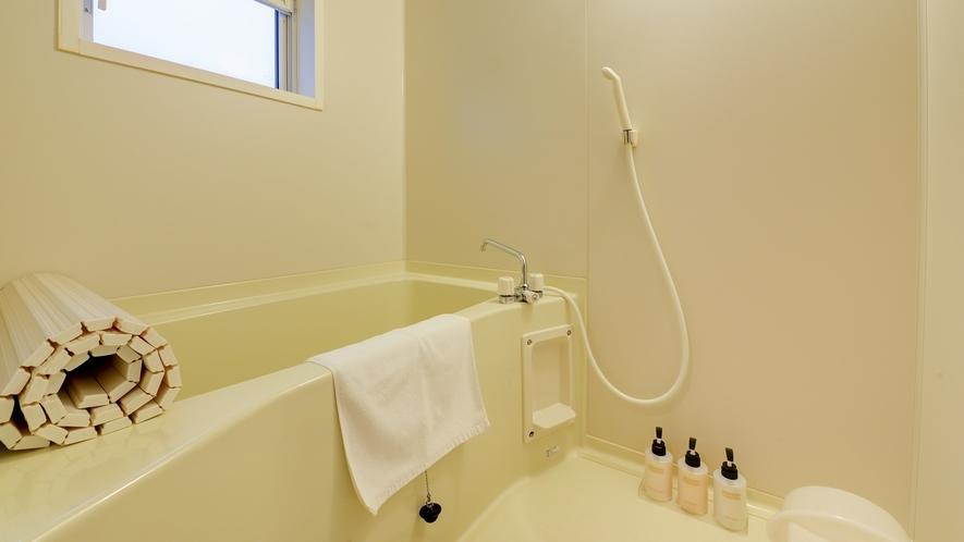 *【ログハウス/E】バスタオルや浴衣は客室にご用意しております。