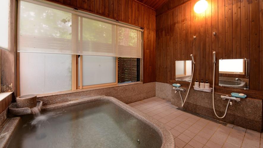 *【浴場(女湯)】インド産インペリアルストーンをくりぬいた浴槽です。