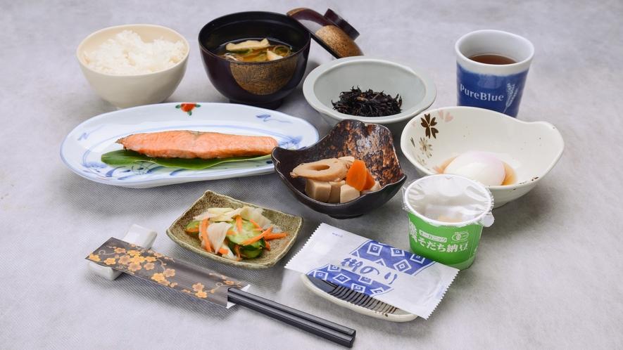 *【朝食一例】日替わりの和朝食をご用意しております。