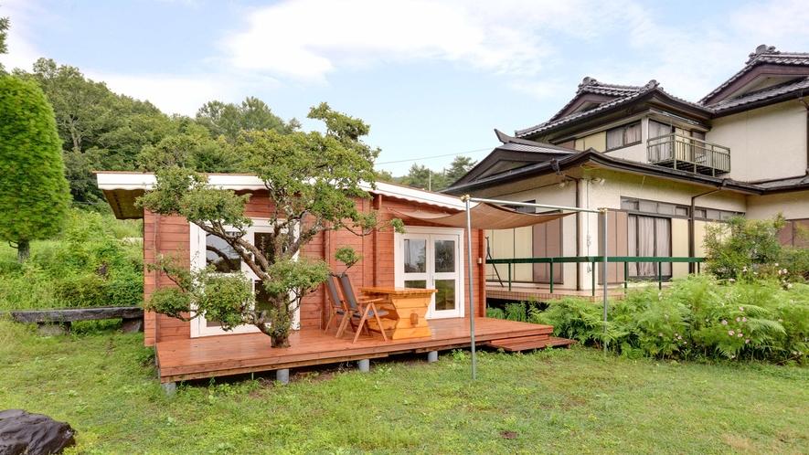 *【BBQスペース】屋内・屋外あわせて4組限定の新設BBQスペースです。