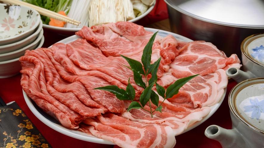 *【夕食一例】地元の食材にこだわったお食事をご用意しております。