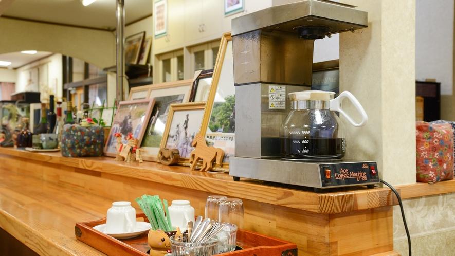 *【朝食一例】セルフサービスのコーヒーをご自由にお楽しみください。