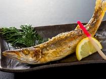 地魚一品[カマス塩焼き]