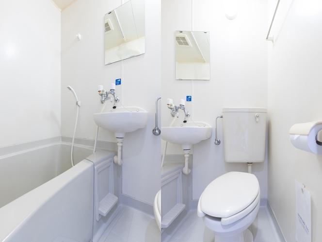 シングルルーム バス・トイレ