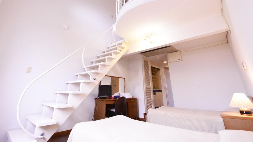 *メゾネットB(客室一例)/ご家族で宿泊される場合に最適なメゾネットタイプ!別荘気分を味わえます。