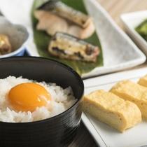 ご朝食バイキング【和食盛り付け例】