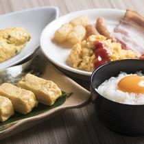 ご朝食バイキング【こだわり卵料理】