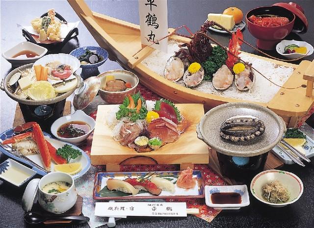 当館のお奨め料理コース