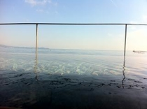 空に浮かぶ貸切露天風呂「潮彩(しおさい)」