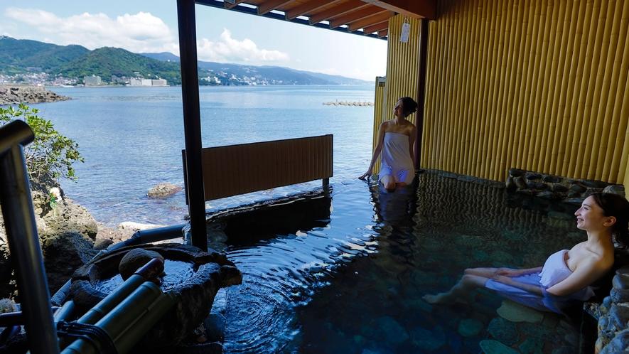 源泉かけ流しの熱海温泉