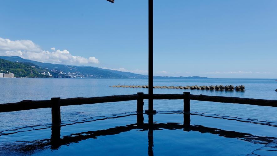 海一望の露天風呂