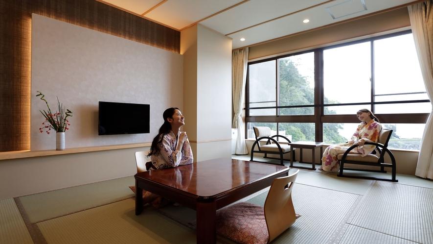 オーシャンビュー客室一例