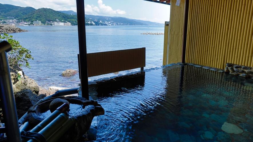 海一望の大浴場