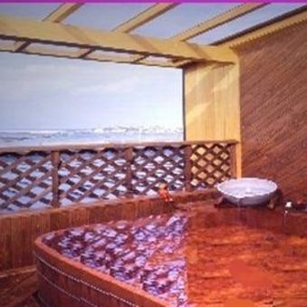 露天風呂付き部屋(天然温泉・源泉掛け流し)