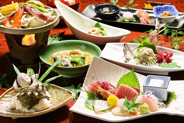 【平日限定お得旅プラン】☆お食事はお部屋で海鮮料理!1泊2食プラン【ベストプライス保証】