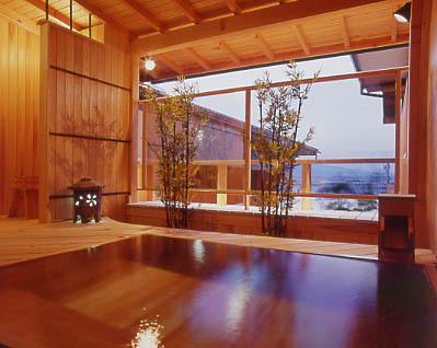 露天風呂付き客室203