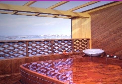 【タイムセ−ル】露天風呂付き客室