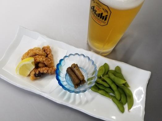 【ちょい飲みプラン♪Aコース】生ビールなどのワンドリンクと『和食処さくら』おススメおつまみ付!