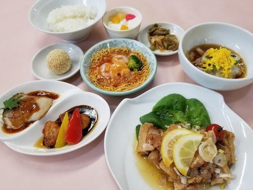 1泊2食付Cコース☆夕食はボリュームたっぷりの『信玄鶏の油淋ソースがけセット』☆朝食はバイキング♪