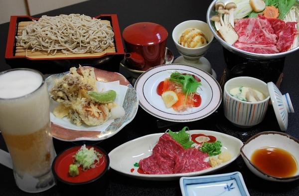 和食、洋食、中国料理、焼肉から選べる♪おひとりさま夕食付プラン