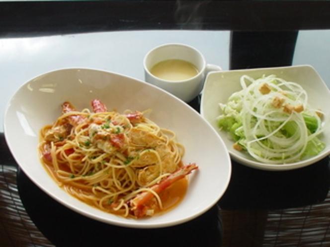 【キャラ】タラバガニのスパゲッティ