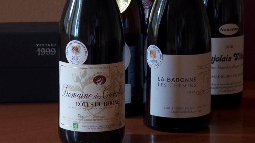 オーナー厳選の各種ワイン