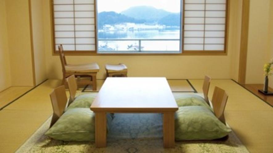 海側10畳和室の一例です。当館のスタンダード客室です