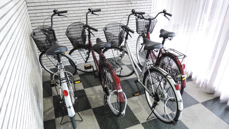 *レンタサイクル(4台)※先着順