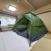 キャンプ体験プラン