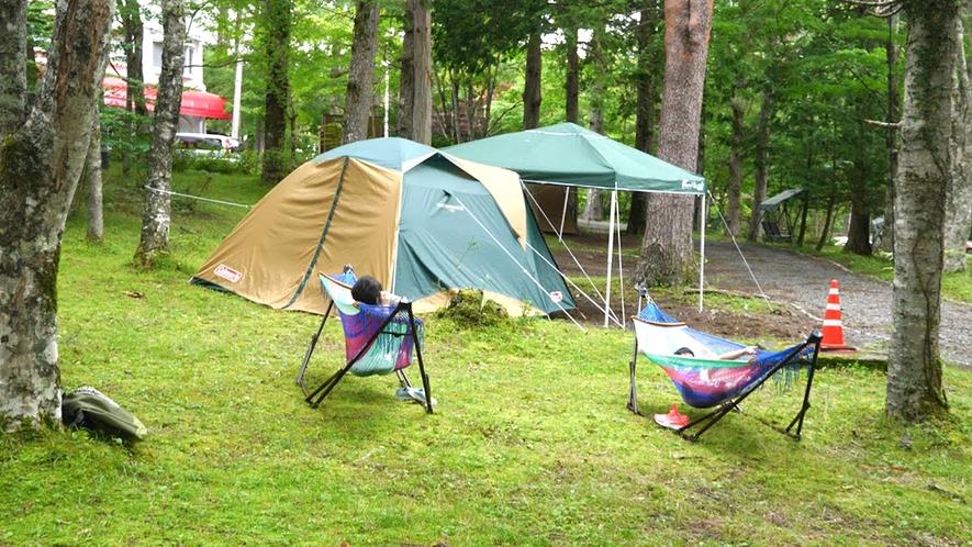 【キャンプ体験プラン】都会ではできないアウトドア体験で、大人も子供も大満足!
