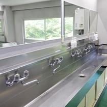 本館の共同洗面所