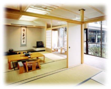 特別室「本栖」 和室10畳+6畳+広縁(喫煙ルーム)
