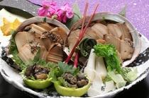 山梨の特産品 煮貝もご用意いたしております。