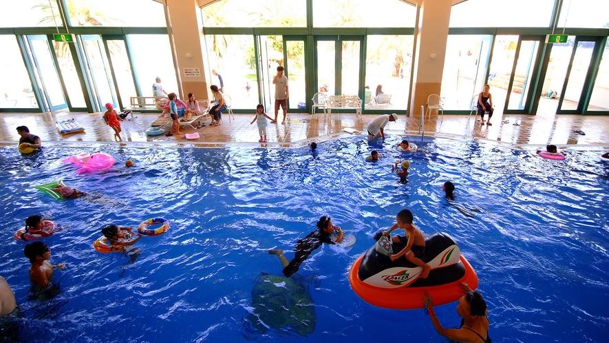 ◆屋内プール(季節営業)春休み・GW・夏休み・年末年始の営業となります、詳しくはお問い合わせ下さい)