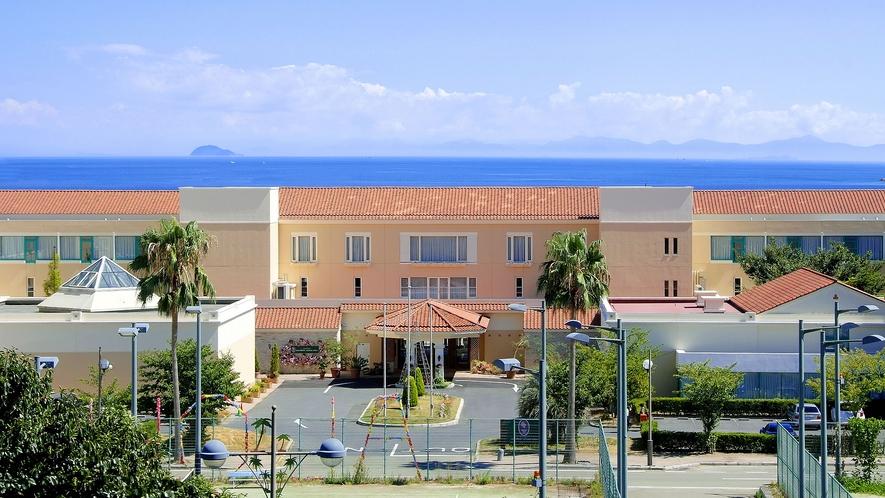 ◆ホテルからダッ〇ュ島が見えます♪