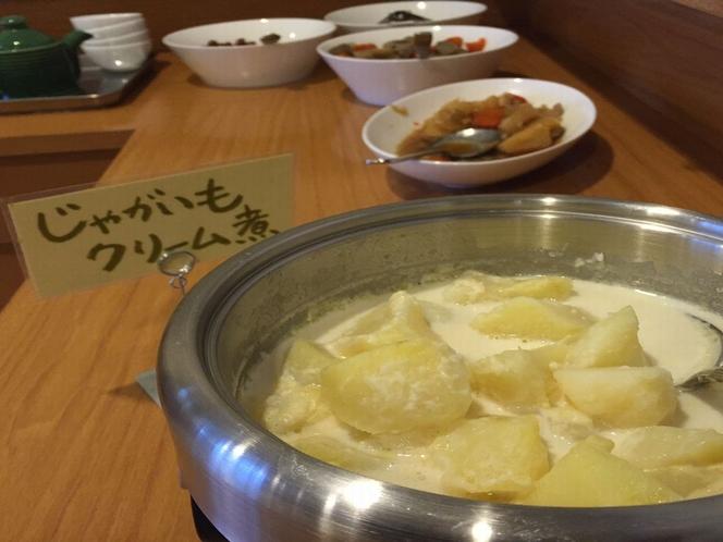 朝食(じゃがいもクリーム煮)