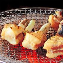 フグの魚醤焼き(一例)