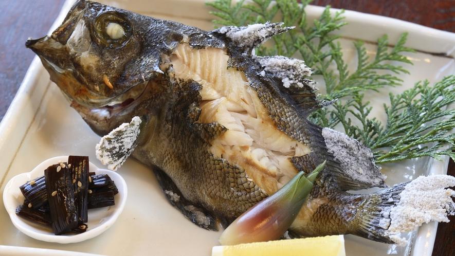 *魚の塩焼き(一例)