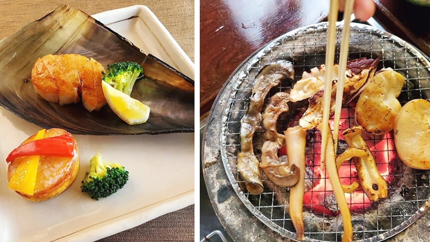 *春の料理 貝類は知多酒にあう最高の食材です。