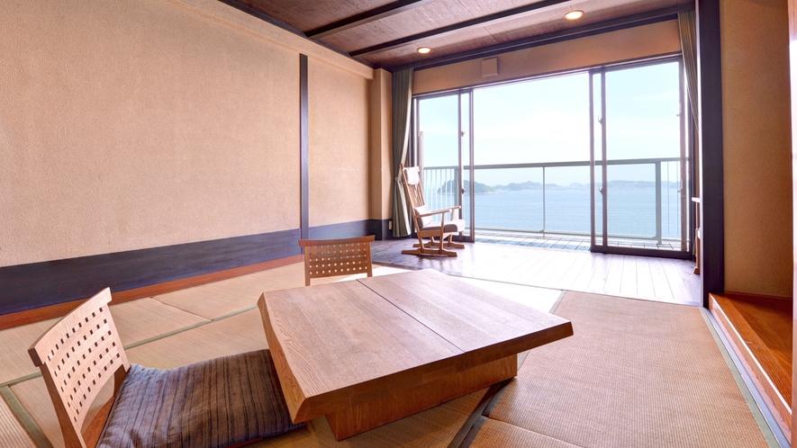*Cタイプ(和室8畳+板の間+テラス)/感動と安らぎを与えてくれるリュクスな空間で上質の休日を。