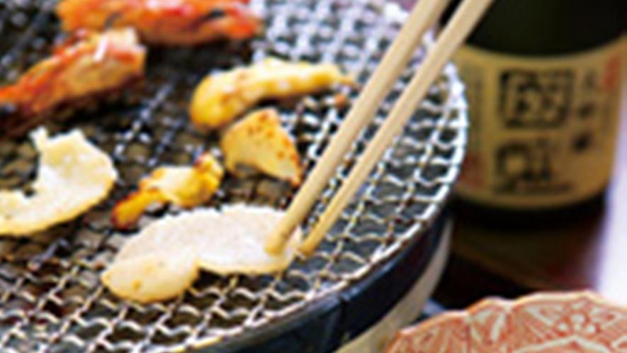 *魚醤炭火焼