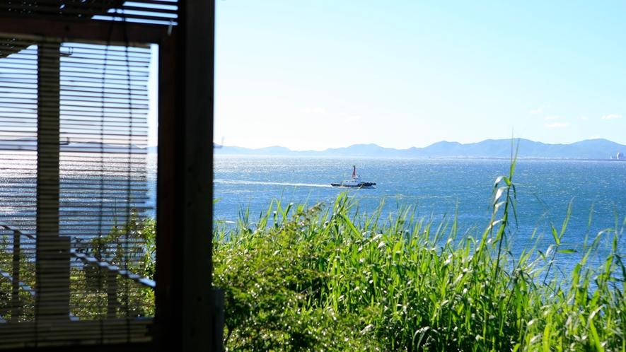 *日間賀島の自然
