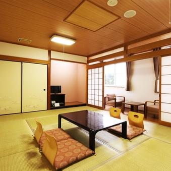 【禁煙】和室12畳+広緑付(バスなし)32.51平米