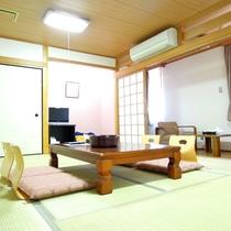 【和室12畳】グループやファミリー旅行にオススメ♪畳が気持ちいい広々としたお部屋です。