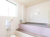 2階のお風呂-大崎温泉を使用