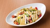 蒸し鶏豆腐サラダ