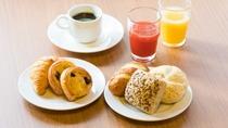 朝食メニュー お時間が無い方で、軽食としてお召し上がりください