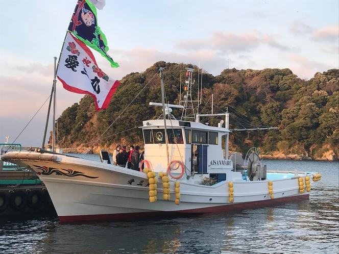 しらす漁船