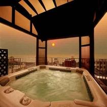日本海展望のジャグジー(貸切風呂)